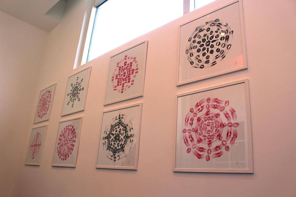 Vue d'exposition Jed Voras